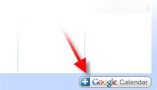 Adding a Google Calendar